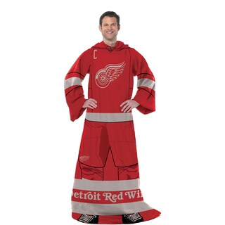 NHL 024 Red wings Uniform Comfy Throw