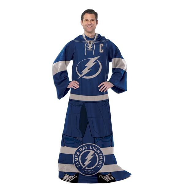 NHL 024 Lightning Uniform Comfy Throw