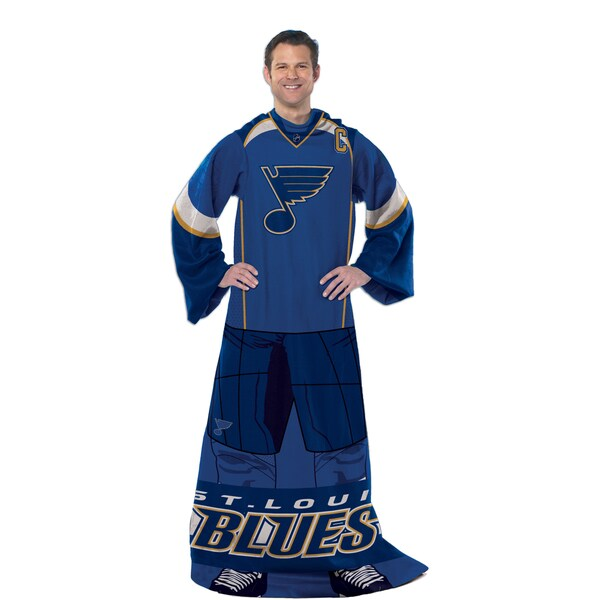 NHL 024 Blues Uniform Comfy Throw