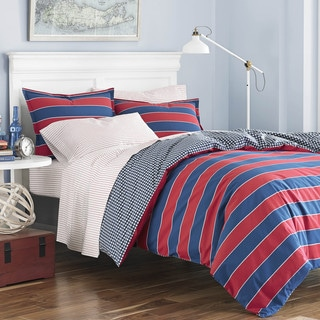 Poppy & Fritz Parker Cotton Stripe Comforter Set