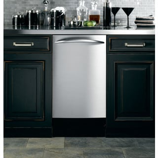 GE Stainless Steel 18-inch Fully Integrated Dishwasher
