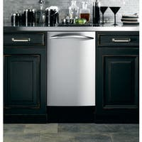 GE Stainless Steel 18-inch Fully Integrated Dishwasher - Stainless Steel