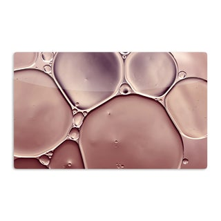 KESS InHouse Ingrid Beddoes 'Dusty Pink' Blush Artistic Aluminum Magnet