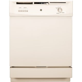GE Built-In Full Console Dishwasher Bisque