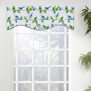 Melody Shaped Valance