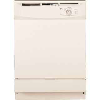 GE Built-In Dishwasher White Finish - Bisque