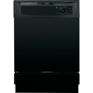 GE Black Full Console Dishwasher