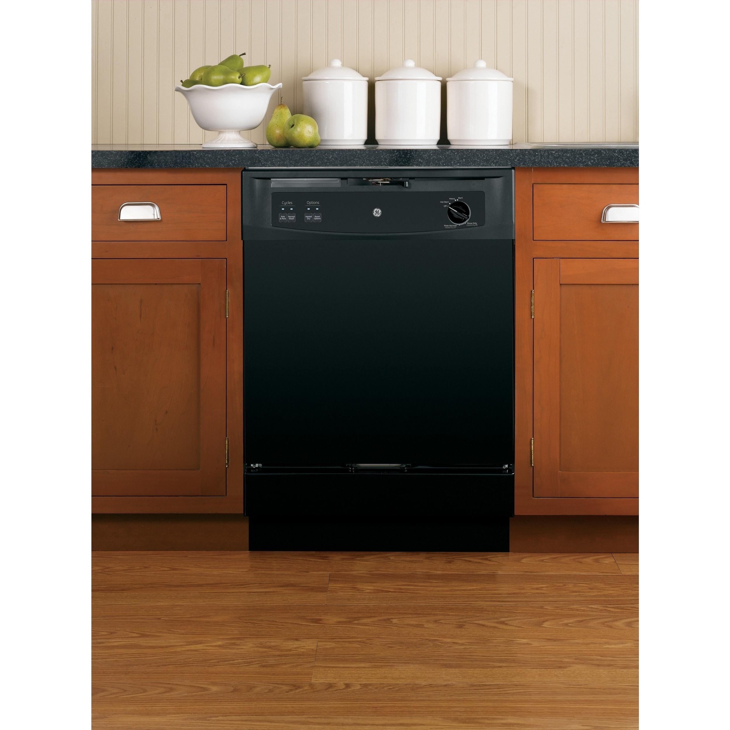 GE Convertible Portable Dishwasher BLACK