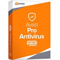 AVG AVS-PAV18T12EN-03 Avast Pro Antivirus for 3 PC - 1 Year Licence