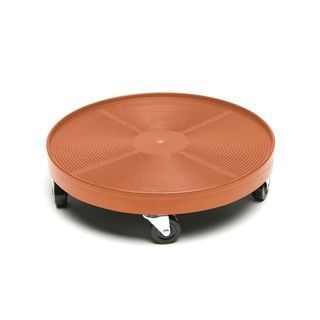 Terra Cotta Plastic 16-inch Plant Dolly