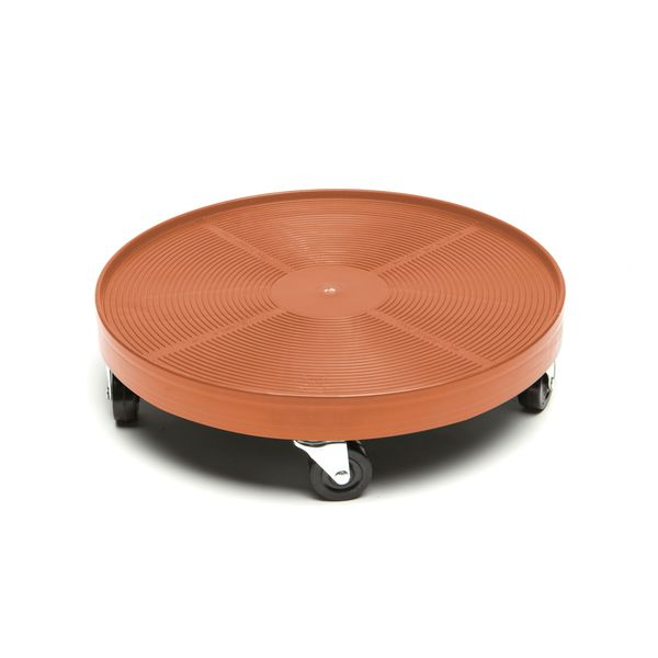 Terra Cotta Plastic 16-inch Plant Dolly. Opens flyout.