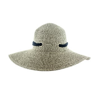 Faddism Women's Woven Sun Hat With Big Bow