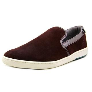 Ted Baker Men's Chaise Red Suede Regular Athletic Shoes