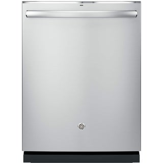 GE  Black Plastic/ Stainless Steel Fully Integrated Dishwasher (Stainless Steel Finish)