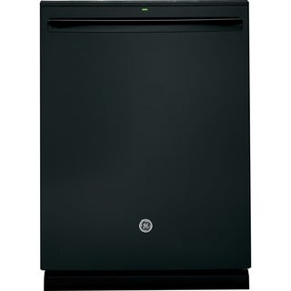 GE  Black Plastic/ Stainless Steel Fully Integrated Dishwasher (Black Finish)