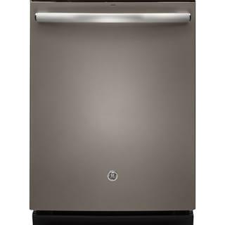 GE  Black Plastic/ Stainless Steel Fully Integrated Dishwasher (Slate Finish)
