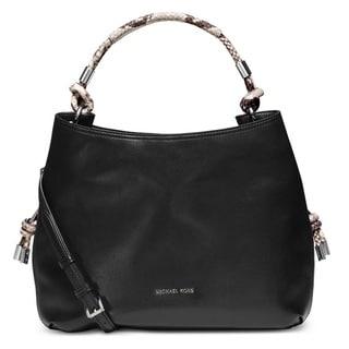 Michael Kors Isabel Large Convertible Shoulder Bag - Black