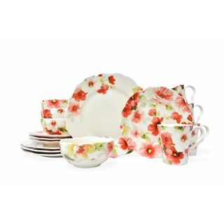 222 Fifth Alicia 16-Piece Dinnerware Set