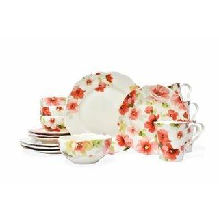 222 Fifth Alicia 16-Piece Dinnerware Set