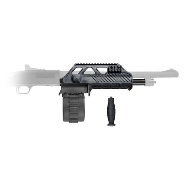 Adaptive Tactical Venom Mossberg 500/88 Shotgun Magazine Conversion Kit with 10rd Rotary Mag and Wraptor Forend