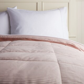 Hotel Madison 300 Oxford Stripe Down Blanket (More options available)