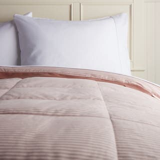 Hotel Madison 300 Oxford Stripe Down Blanket