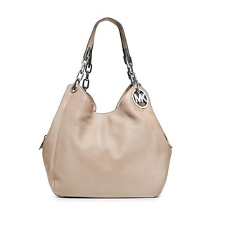Michael Kors Fulton Cement Large Shoulder Tote