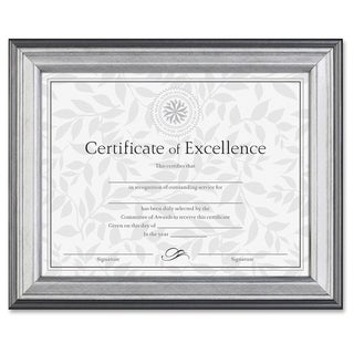 Burnes Document Frame - Silver