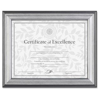 burnes document frame silver - Document Frames