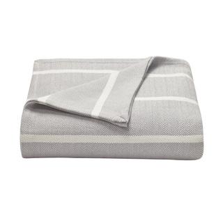 Nautica Brayton Herringbone Stripe Blanket
