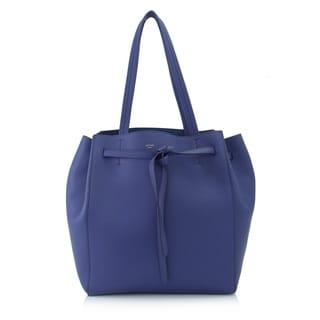 Celine Indigo Small Cabas Phantom Belt Tote Bag