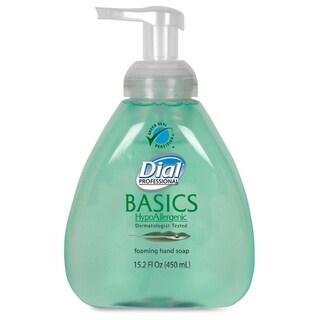 Dial Basics Foaming Soap w/ Aloe - Green (1/Carton)