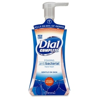 Dial Complete Foaming Hand Soap - Amber (1/Carton)
