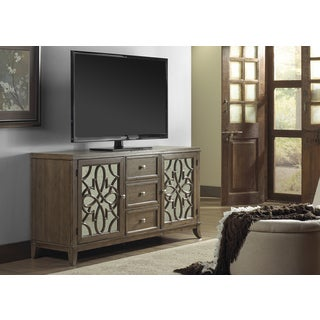 Claiborne Weathered Sand 60-inch TV Stand