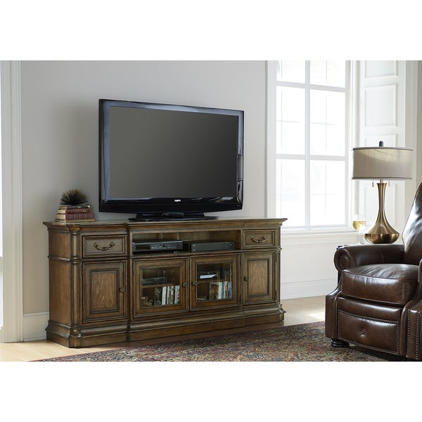 Liberty Amelia Antique Toffee 75 Inch TV Stand Free Shipping Today