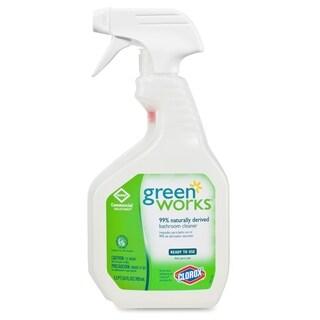 Green Works Bathroom Cleaner - White (1/Carton)