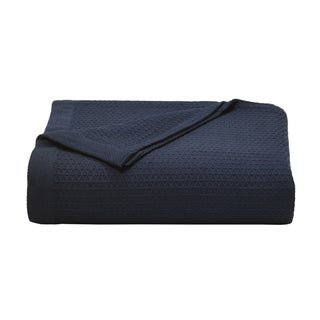 Nautica Baird Diamond Knit Cotton Twill Blanket (More options available)