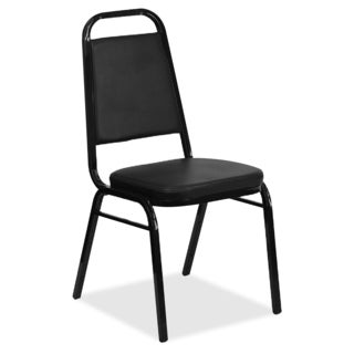 Iceberg Open Back Banquet Chair - Black (4/Carton)