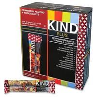 KIND Plus Cranberry Almond + Antioxidants 1.4 oz. Nutrition Boost Bar 12-piece Box