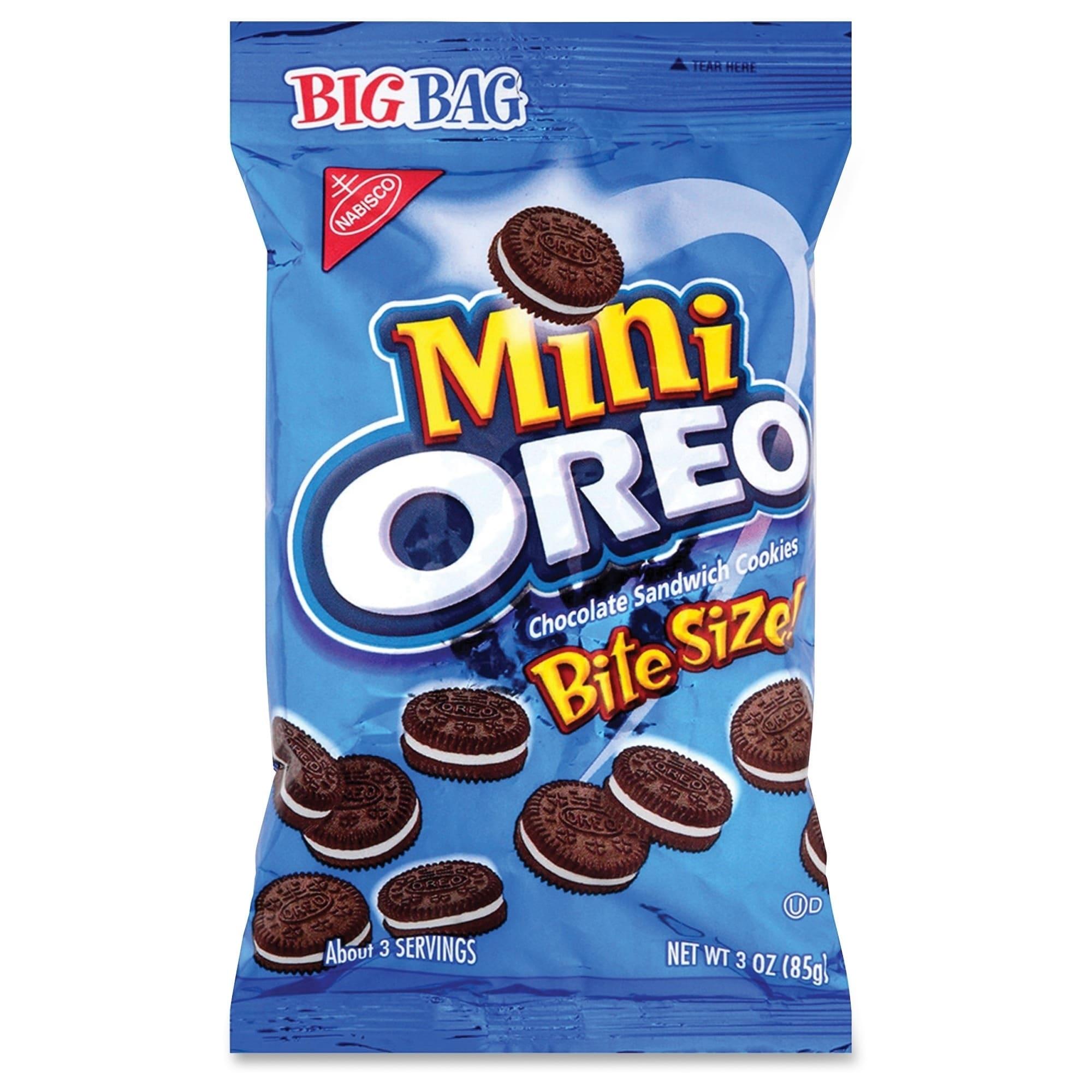 International Oreo Mini Chocolate (Brown) Sandwich Cookie...