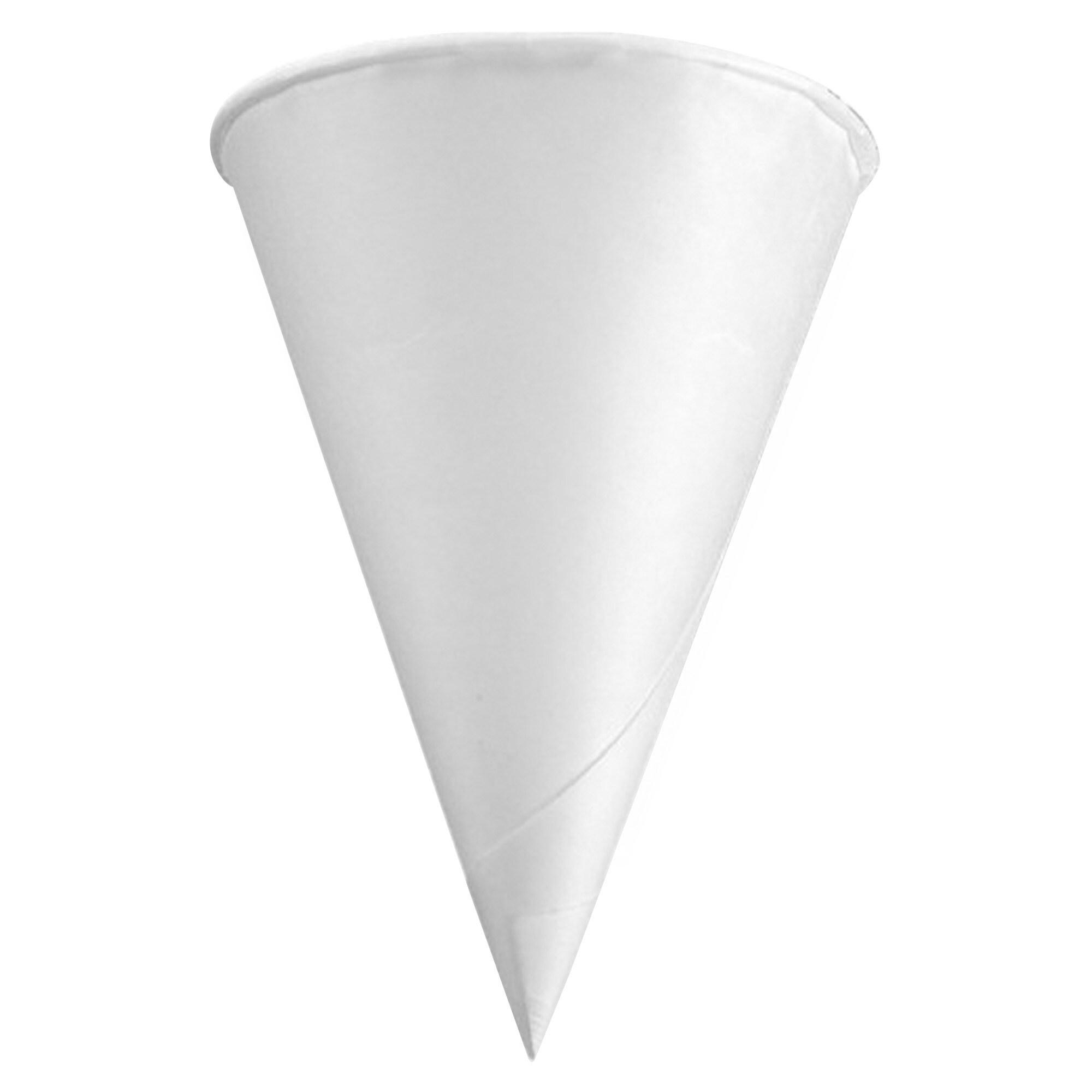 International Konie 4.5 oz KR Rolled Rim Cup - White (200...