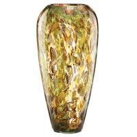 Lenox Seaview Tortoise Glass Urn Vase