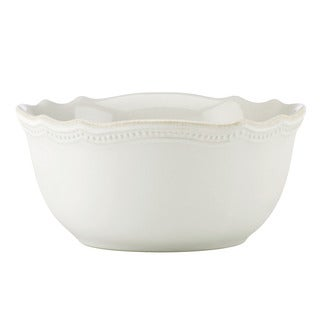 Lenox French Perle Bead White All Purpose Bowl