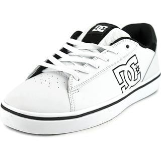 DC Shoes Men's 'Notch' White Leather Athletic Shoes