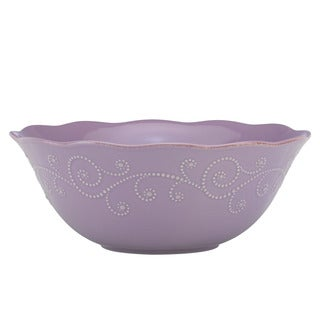 Lenox French Perle Violet Serving Bowl