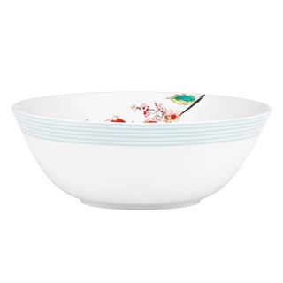 Lenox Chirp Stripe Serving Bowl