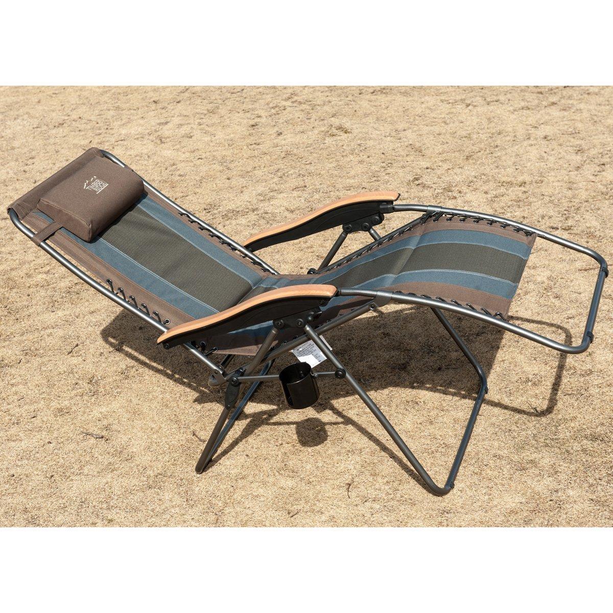 Outstanding Timber Ridge Multicolor Oversized Xl Padded Zero Gravity Chair Machost Co Dining Chair Design Ideas Machostcouk