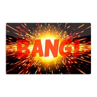 KESS InHouse KESS Original 'Bang' Artistic Aluminum Magnet