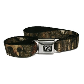 Dodge Ram Mossy Oak Seatbelt Belt