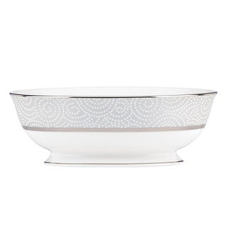 Lenox Pearl Beads Open Vegetable Bowl